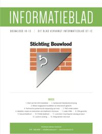 Nieuw Informatieblad Bouwlood 18-13