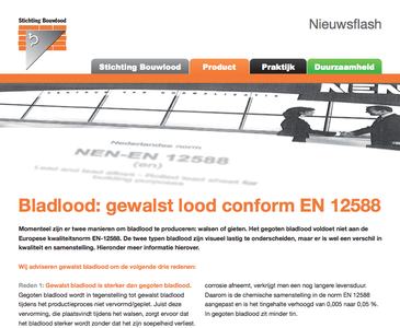Infoblad Gewalst bladlood vs Gegoten bladlood